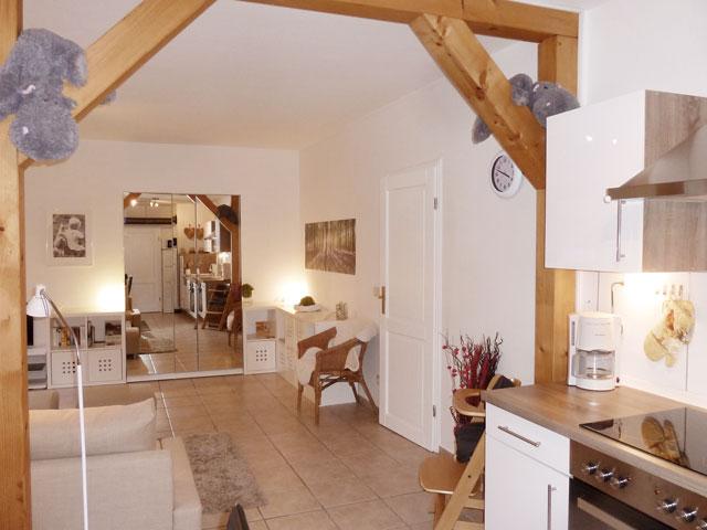 offener Küchen- und Wohnbereich