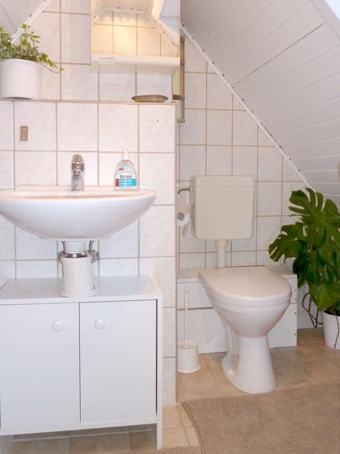 zusätzliches WC im Dachgeschoss